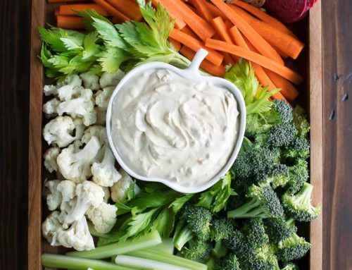 Dip Dip Hooray! – Can Eating Dip Increase Veggie Consumption?